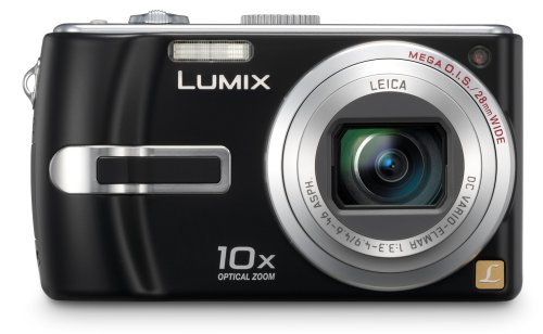 Panasonic DMC-TZ3 EG-K Digitalkamera (7 Megapixel, 10-fach opt. Zoom, 7,6 cm (3 Zoll) Display, Bildstabilisator) tiefschwarz Panasonic Sd-viewer
