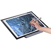 Aibecy Mesa de Luz A3 Dibujo Portátil LED Tableta para Calcar de Art Display Tablero del panel de copia Cable Pad con cable USB- 21.4 Pulgadas Brillo Ajustable en 3 Niveles con Base Multifuncional