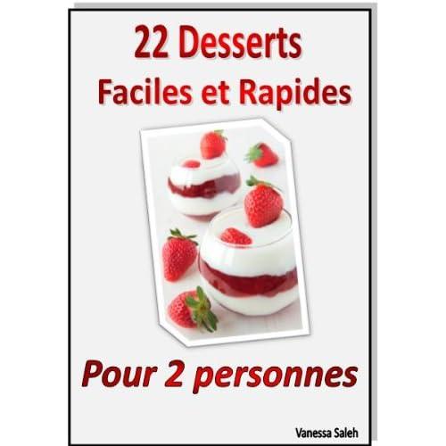 Desserts faciles et rapides pour deux personnes