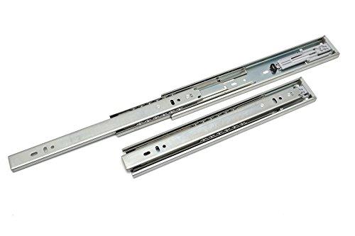 Absenkautomatik, Selbstschließende Schubladenschienen, volle Länge, (1 Paar) H45 500 mm