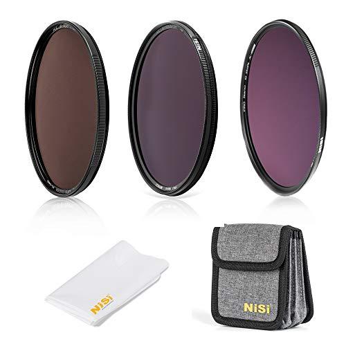 NiSi 72mm Filter Set -ND Filterkit (ND8 + ND64/PL + ND1000 + Runde Filter Tasche +Reinigungstuch) (Mm Pl-filter 72)