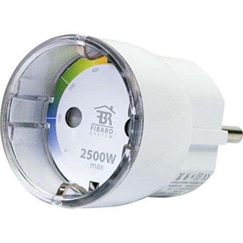 Schwaiger zhs13Durchgangsdose Schuko-Überwachung Energieverbrauch, 2500W, WLAN, Protokoll-Wave, weiß