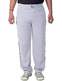 Lingo Men's Hosiery Track Pants Pyjama - Light Grey