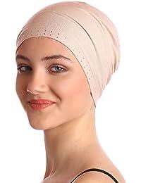 Jeweled Wesentliche Baumwollkappe für Haarausfall, Krebs, Chemo