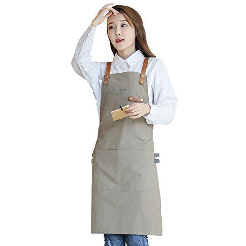 Pinji Delantal de Lona para Cocina