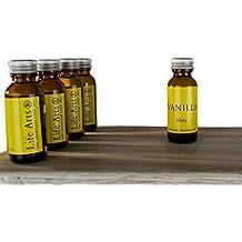 Profumo Olio Aromatizzato Vaniglia Bottiglia da 30 cl Intenso (9cm x 3cm)