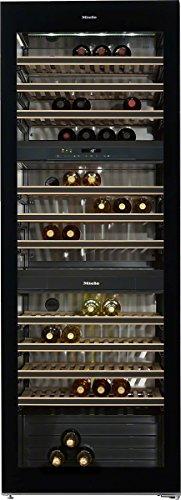 Miele KWT 6833 SG Weinkühlschrank / Parallele Lagerung von Wein durch separate Temperaturzonen /...