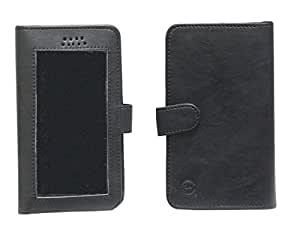 Jo Jo A11 Omni Leather Carry Case Pouch Wallet S View For Asus PadFone Infinity (second gen) Black
