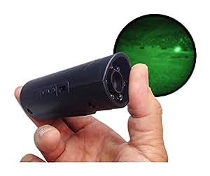Snooperscope - Lunette de vision nocturne pour Smartphone et tablette, connexion Wi-Fi, batterie intégrée, Noir
