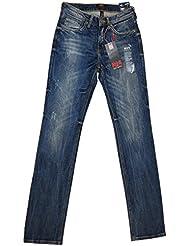 HIS tessa jean pour femme taille 34/31 hIS - 113–10–418 référence 771774 blue velvet