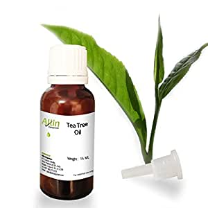 Allin Exporters Tea Tree Essential Oil for Skin, Hair and Acne care ,15ml