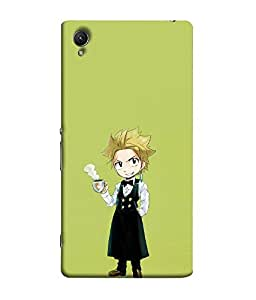 FUSON Designer Back Case Cover for Sony Xperia X :: Sony Xperia X Dual F5122 (Fashion Girly Paintings Blutooth Phone )