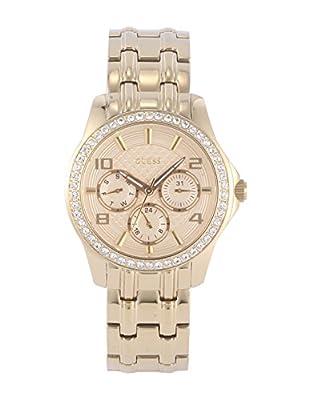 Guess Reloj Análogo clásico para Mujer de Cuarzo con Correa en Acero Inoxidable W0403L2