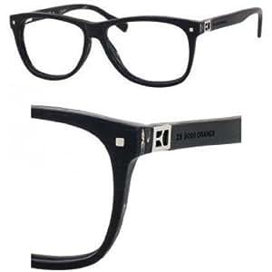 BOSS ORANGE Monture lunettes de vue 0088 0ZJ9 Imitation bois/Noir 52MM