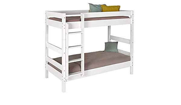 Colore bianco e legno naturale Guardaroba a forma di casa per la camera del bambino