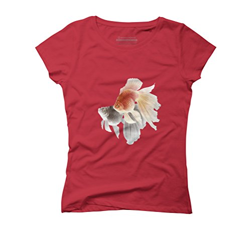 Love Goldfishes Women's Graphic T-Shirt - Design By Humans Red