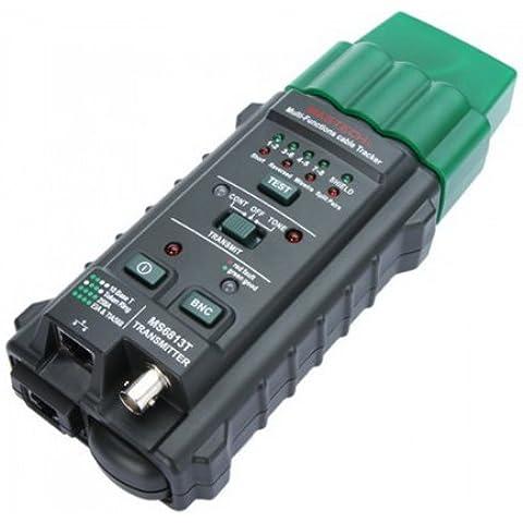 Mastech - Cable Tester Medidor Probador Detector Rastreador de cables Red línea telefónica BNC RJ45 RJ11