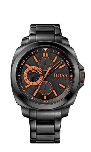 Hugo Boss Herren-Armbanduhr XL Chronograph Quarz Edelstahl beschichtet 1513104