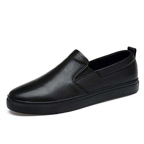 Chaussure de ville homme derby commercial casuel nubuck basses plat escarpin Noir