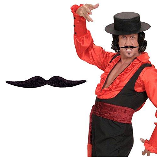 Schnurrbart Spanier Karneval Oberlippenbart Dali Künstler Gentleman Mustache Kunstbart Bartattrappe Mottoparty Kunsthaar Moustache Schnauzer Bart Falscher Oberlippen Bart Herrenbart Männerbart Party Oliba Schnauzbart Karneval Kostüm - Schnurrbart Künstler