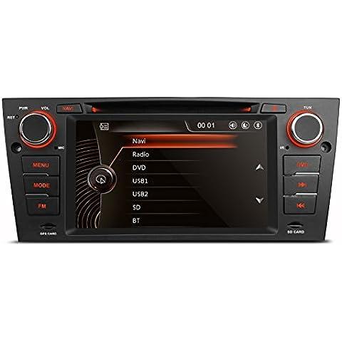 mcwauto per BMW Serie 3E90E91E92E93Auto lettore DVD GPS 7inch BMW originale UI 1080P Touch Screen capacitivo Car Stereo in-dash lettore DVD con navigazione gps Canbus - 2007 4 Modello