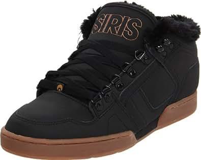 Osiris Men's Nyc83 Mid Shr Black/Gum Trainer 1241103 8 UK, 9 US