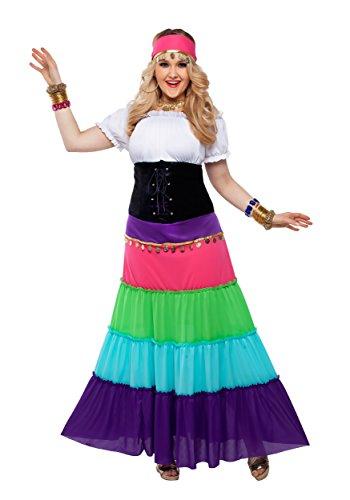 aissance Gypsy Fancy dress costume 2X-Large ()