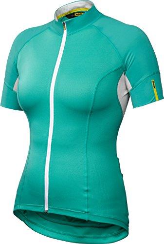 Mavic Ksyrium Elite Damen Fahrrad Trikot kurz grün 2016: Größe: S (34/36) -