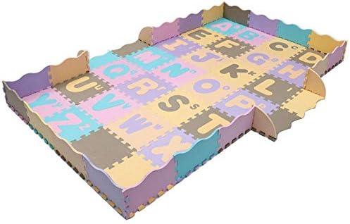 Tapis rampant Alphabet anglais, dessin animé, mosaïque mosaïque mosaïque Antidérapant Tapis rampant bébé Tapis de sol multifonctionnel Bulle environneHommes tale Tapis d'escalade edc6a4