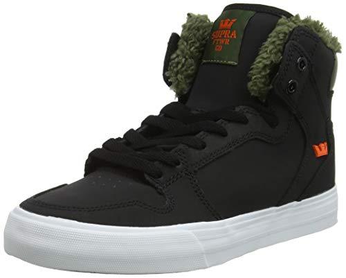 Supra Herren Vaider Hohe Sneaker, Schwarz (Black/Olive Night-White 013), 43 EU (Supra Schuhe Herren High-tops)
