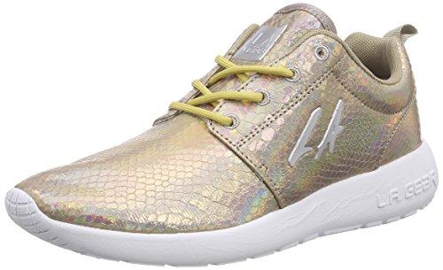 L.A. Gear Sunrise Damen Sneakers Elfenbein (Champagne 08)