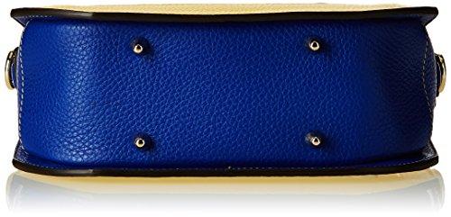 Nannini, B10095, sac à main Femme Multicolore (Cobalto)