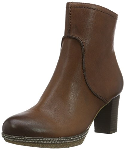 Gabor Shoes Damen Comfort Sport Kurzschaft Stiefel, Braun (Sattel (Micro) 25), 41 EU (Sattel-schuh Heels)