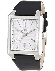 Esprit Herren-Armbanduhr monterey Analog Quarz Leder A.ES104071001