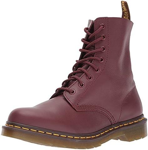 Dr. Martens Pascal, Boots femme - Rouge (Cherry Red Virginia), 41 EU (7 UK)