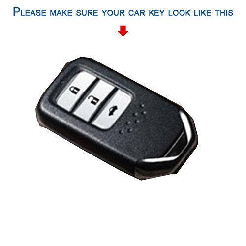kmh silicone key cover for honda city 2014 3 button smart key KMH Silicone Key Cover For Honda City 2014 3 button Smart Key 41VA5E9a XL