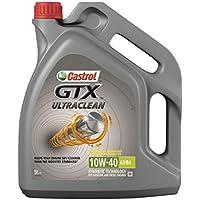 Castrol GTX Ultraclean 10W-40 A3/B4 Aceite de motor, 5 L