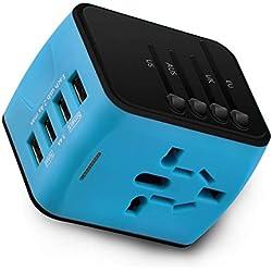 Power Bank, 10000mAh caricatore portatile USB station menu supporto pubblicitario espositore backup battery charger 4x USB 2.1A multiple stazione di ricarica per bar, ristoranti, bar, caffè negozi