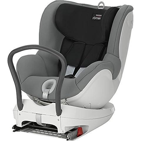 Romer Dual Fix - Silla de coche, grupa 0+/1 (nacimiento - 15 kg), color gris (steel grey)