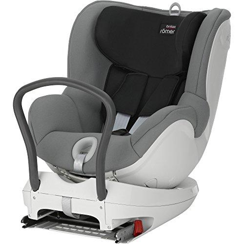 Britax-Romer Dualfix Seggiolino Auto, colore grigio (steel grey), taglia fino a 15 kg