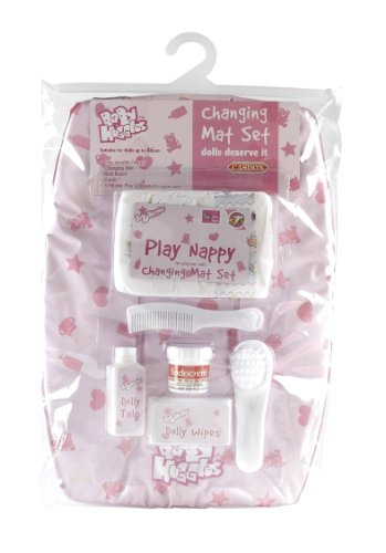 Casdon 712 - Baby Huggles cambiador de pañales con accesorios para muñeco