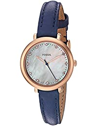Fossil Analog Mother Of Pearl Dial Women's Watch-ES4083