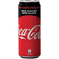 Coca Cola - Zero, Bevanda Analcolica Senza Calorie - 24 pezzi da 330 ml [7920 ml]