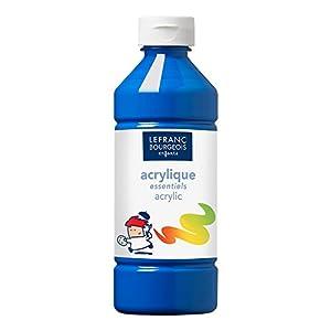 Lefranc & Bourgeois - Pintura acrílica líquida, 500 ml, color azul