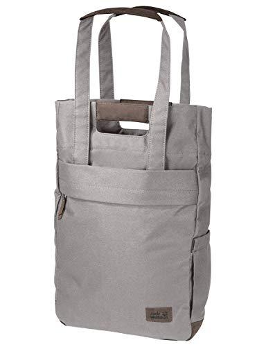 Jack Wolfskin Piccadilly Einkauf Shopper Tasche, Clay Grey, ONE Size -