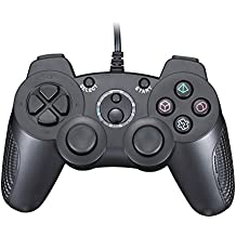 Wired Controller Doppelte Shock Gamepad für Sony Playstation 2 PS2 PS1 (Support Turbo)