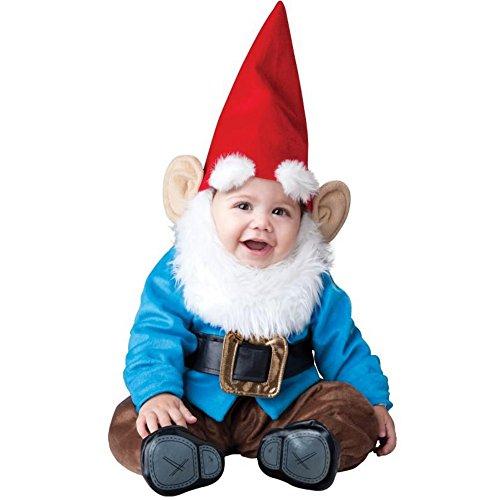 Gartenzwerg Babykostüm - 6-12 Monate (Kinder High Halloween Monster Costumes)