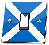 Schottische Flagge Lichtschalter-Sticker, haut