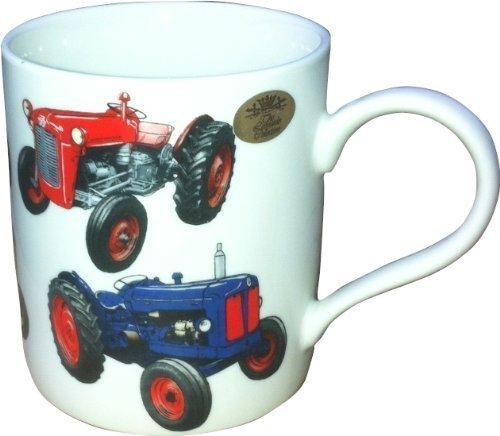 Lesser & Pavey classique tracteur Mug en porcelaine, multicolore