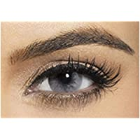 Bella Colored Diamond Collection Cosmetic Contact Lenses - Gray Shadow